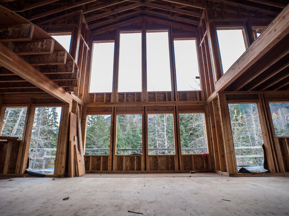 New Home Build: Girdwood, Alaska