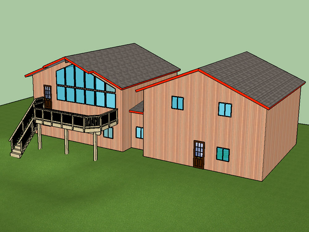 3D Design Model: Girdwood, Alaska